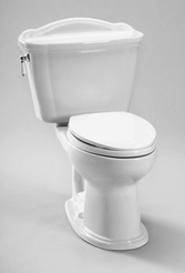 TOTO Eco Whitney� Toilet, 1.28 GPF - ADA