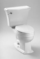 TOTO Eco Clayton� Toilet, 1.28 GPF - ADA