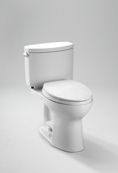 TOTO Drake II Two-Piece Toilet, 1.28 GPF, Drake II