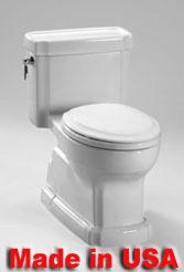 Eco Guinevere® Toilet, 1.28 GPF - ADA
